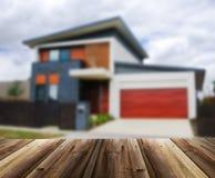 Несосредоточенное изображение дома Стоковое Изображение RF