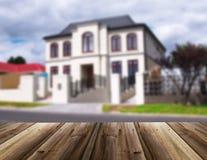 Несосредоточенное изображение дома Стоковые Изображения