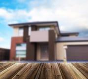 Несосредоточенное изображение дома Стоковое Фото
