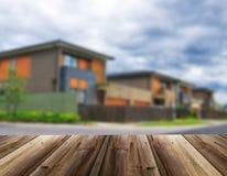 Несосредоточенное изображение дома Стоковая Фотография RF