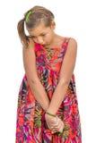 Нестабильный ребенок пристыженный Стоковые Фото