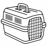 Несущая животного собаки кота бесплатная иллюстрация