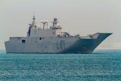 несущая carlos 61 воздушного судна i juan l Стоковая Фотография