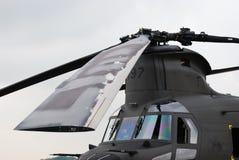несущий винт вертолета лезвий Стоковая Фотография RF