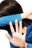несчастная женщина Стоковые Фотографии RF