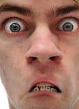 Несчастный вытаращиться человека Стоковая Фотография