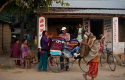 неторопливая жизнь nepalese Стоковая Фотография