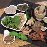Нетрадиционная медицина для людей стоковое фото rf