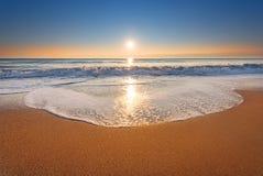 нетронутое пляжа тропическое Стоковое фото RF