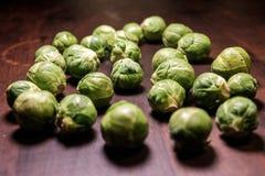 Нетронутые овощи в свете пятна стоковые фото