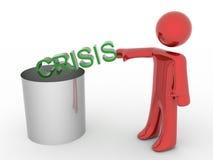нет кризиса Стоковые Изображения RF