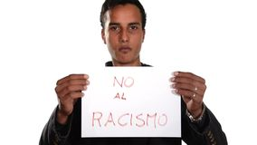 Нет к расизму Испанская версия акции видеоматериалы