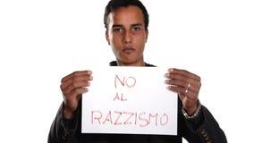 Нет к расизму Итальянская версия акции видеоматериалы