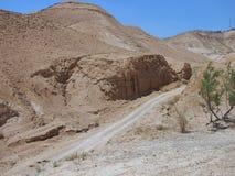 Неурожайная пустыня Judaean, Израиль, Святые Земли Стоковая Фотография