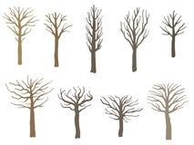 Неурожайный комплект дерева бесплатная иллюстрация