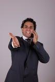 Неудовлетворенный бизнесмен Стоковая Фотография