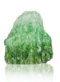 Нефрит изолированный на белой предпосылке Стоковое Изображение