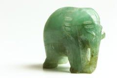 нефрит слона уединённый Стоковое Изображение