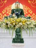 нефрит 2 buddhas стоковые изображения