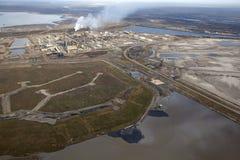 Нефтеносные пески, Альберта, Канада Стоковая Фотография