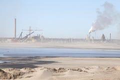 Нефтеносные пески, Альберта, Канада Стоковое Изображение