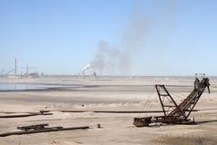 Нефтеносные пески, Альберта, Канада Стоковое Изображение RF
