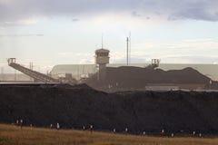 Нефтеносные пески, Альберта, Канада Стоковые Фотографии RF