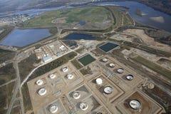Нефтеносные пески McMurray в Альберте, Канаде Стоковая Фотография RF