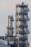 нефтеперерабатывающее предприятие Стоковое Изображение RF
