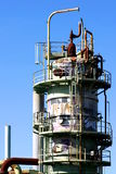 нефтеперерабатывающее предприятие Стоковые Фотографии RF