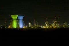 нефтеперерабатывающее предприятие haifa Израиля Стоковая Фотография RF