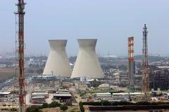нефтеперерабатывающие предприятия Стоковая Фотография RF