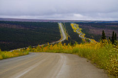 Нефтепровод Аляски Стоковая Фотография RF