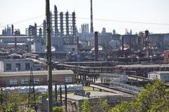 нефтехимический завод Стоковые Фотографии RF