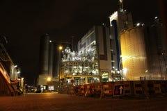 Нефтехимический завод Стоковое Изображение RF