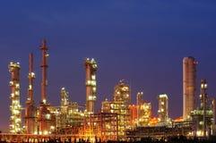 Нефтехимический завод Стоковое фото RF
