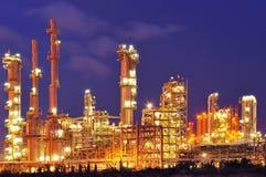 Нефтехимический завод стоковые фото