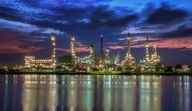 Нефтехимический завод Стоковая Фотография RF