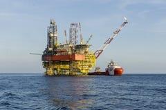 Нефть и газ промышленная стоковое изображение rf
