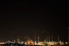Нефть промышленная стоковая фотография