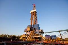 нефтяная вышка Татарстан Россия Стоковые Фотографии RF