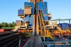 нефтяная вышка Татарстан Россия Стоковая Фотография RF