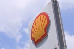 Нефтяная компания раковины Стоковые Фотографии RF