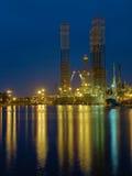 нефтяная платформа стоковая фотография rf