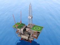 нефтяная платформа бесплатная иллюстрация