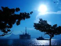 нефтяная платформа 26 Стоковое фото RF