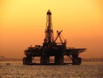 нефтяная платформа Стоковое Изображение RF