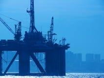 нефтяная платформа Стоковое Фото