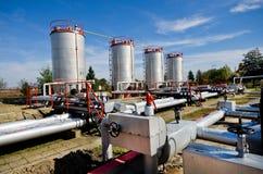 Нефтяная промышленность нефти и газ Стоковое Изображение RF