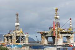 Нефтяная платформа Стоковые Изображения RF